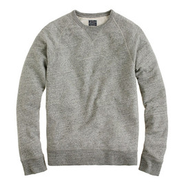 J.Crew - Sueded fleece sweatshirt