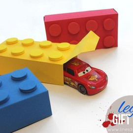 LEGO - Gift Boxes (With Free Templates)