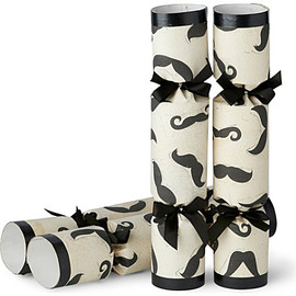 Selfridges Exclusive - Moustache box of six Christmas crackers