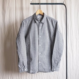 YAECA - Comfort Shirt Standard Wide #black check