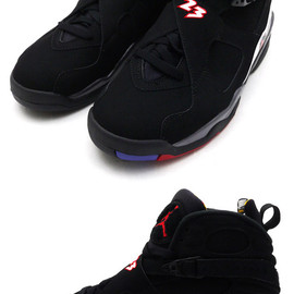 "NIKE - NIKEAIRJORDAN8RETRO""PLAYOFF""[ジョーダン][スニーカー][シューズ]BLACK/VARSITYRED-BRIGHTCONCORD305381-061803-000181-291+【新品】【smtb-TD】【yokohama】"