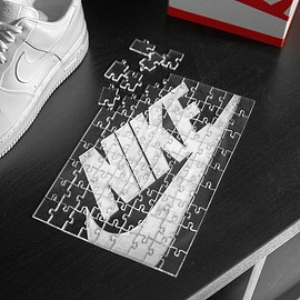 NIKE, KevinConcepts - Acrylic Jigsaw Puzzle - Clear