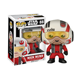 FUNKO - POP! - Star Wars Series: Star Wars The Force Awakens -  Nien Nunb (Pilot Version)