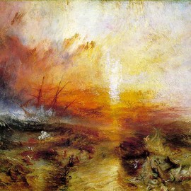 """The Fighting """"Temeraire"""" tugged to her last berth to be broken up"""