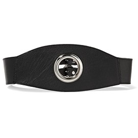 Zana Bayne - Eyelet Cincher leather waist belt