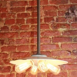 Benjamin - Vintage Industrial Benjamin Light Lamp  4 Socket