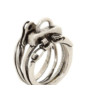 Maison Martin Margiela - Previous Next MENFASHION JEWELRYRINGS MAISON MARTIN MARGIELA KEY RINGS RING