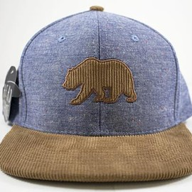 Head Case LA Headwear - Ox Corduroy Bear Patch Snapback