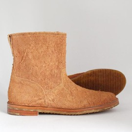MOTO - NIBE LEATHER SHORT PECOS BOOTS