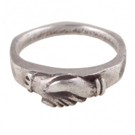 Ursa Major  - Sterling Silver Hands Ring