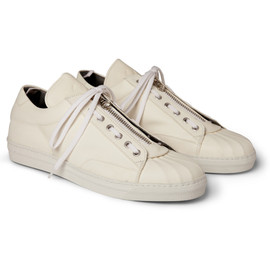 ALEXANDER MCQUEEN  - LEATHER SNEAKERS