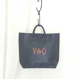 YOUNG & OLSEN The DRYGOODS STORE - YOUNG & OLSEN The DRYGOODS STORE | PAINTER'S LEATHER TOTE(GREY)