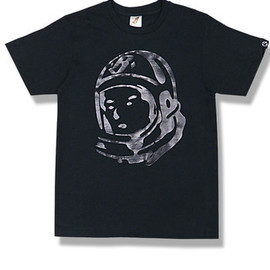 BBCICECREAM - Billionaire Boys Club Monotone Foil Helmet Tee