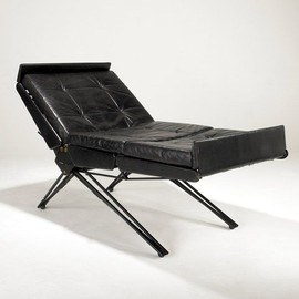 OSVALDO BORSANI - Adjustable lounge chair