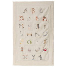 Coral and Tusk - ALPHABET DECORATIVE QUILT