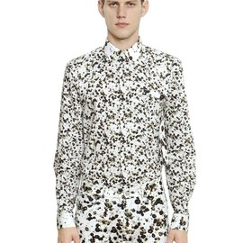 GIVENCHY - SS2015 FLORAL PRINTED COTTON POPLIN SHIRT