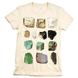 MINERALS Tshirt Science Geology Tee Rocks WOMENS shirt