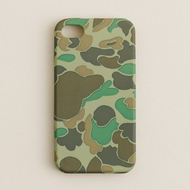 J.Crew - Rubber iPhone 4 case (Cloud Camo)