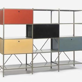 Gispen - METAL BOOKCASE by Wim Rietveld