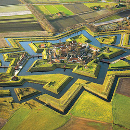 Fort Bourtange in Netherlands - Fort Bourtange in Netherlands