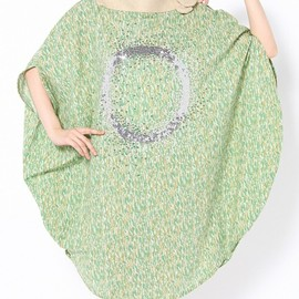 COSMIC WONDER Light Source - SUNPRINTING SEQUINED CIRCLE DRESS