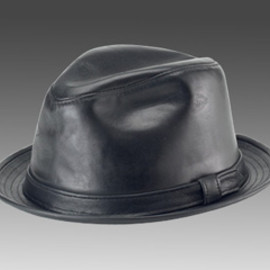 NEW YORK HAT - Lambskin Fedora