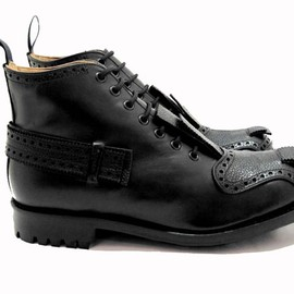 the casely-hayford x john moore - cawdor boot in black