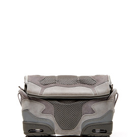 ALEXANDER WANG - SS2015 Small Sneaker Sling In Light Concrete With Mesh