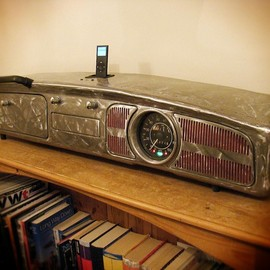 Check this out for the coolest ipod dock ever...