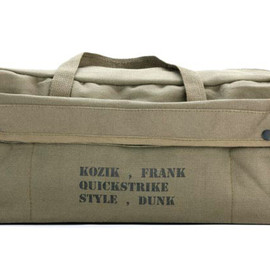 Frank Kozik, NIKE SB - Artist Edition Army Bag & Dog Tag