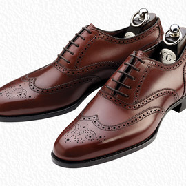 Gaziano & Girling - Rosewood calf