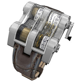 Winch Tourbillon Vertical Watch