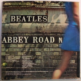 The Beatles - Abbey Road UK 1st Press Misaligned apple