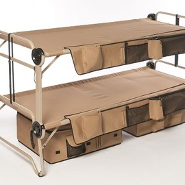 DISC-O-BED - Arm-O-Bunk with Footlocker - Military Bunk Bed