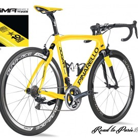 PINARELLO - DOGMA 65.1 THINK2 Road to Paris Limited Edition