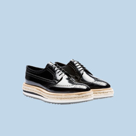 PRADA - Wing Tip Shoes (Black)