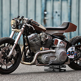 Harley-Davidson - Softail sprint bike by BG-Garage Custom