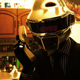 Daft Punk Thomas Helmet (complete outfit)
