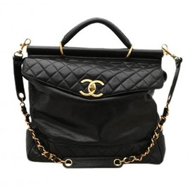 CHANEL - HUGE VINTAGE BAG