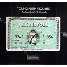 "Jamie Reid - SEX PISTOLS ""Young Flesh Required"""