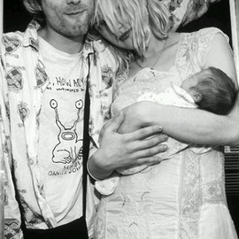 Kurt, Courtney and Frances