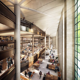 Foster + Partners - New York Public Library (plan)