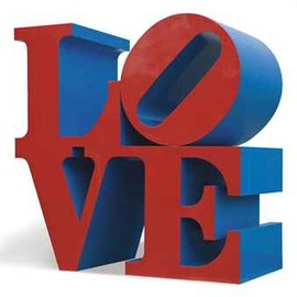 Robert Indiana - Love Red/Blue