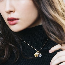 Her lip to - Multi Charm Necklace