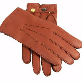 DENTS - Cashmere lined gloves in hairsheep leather