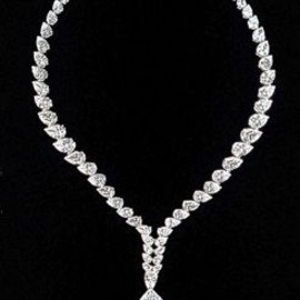 "Cartier - 69.42-carat pear-shape ""Taylor-Burton"" diamond."