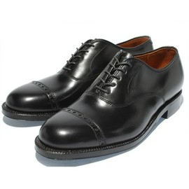 ALDEN - Calf Cap Toe Balmoral Oxford