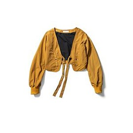 Sasquatchfabrix - BOLERO FLIGHT JACKET (MUSTARD)