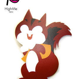 High-Me TOKYO - Drug Squirrel Broach