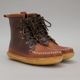 QUODDY TRAIL MOCCASIN - Quoddy: Grizzly Boot (Peanut Brown)